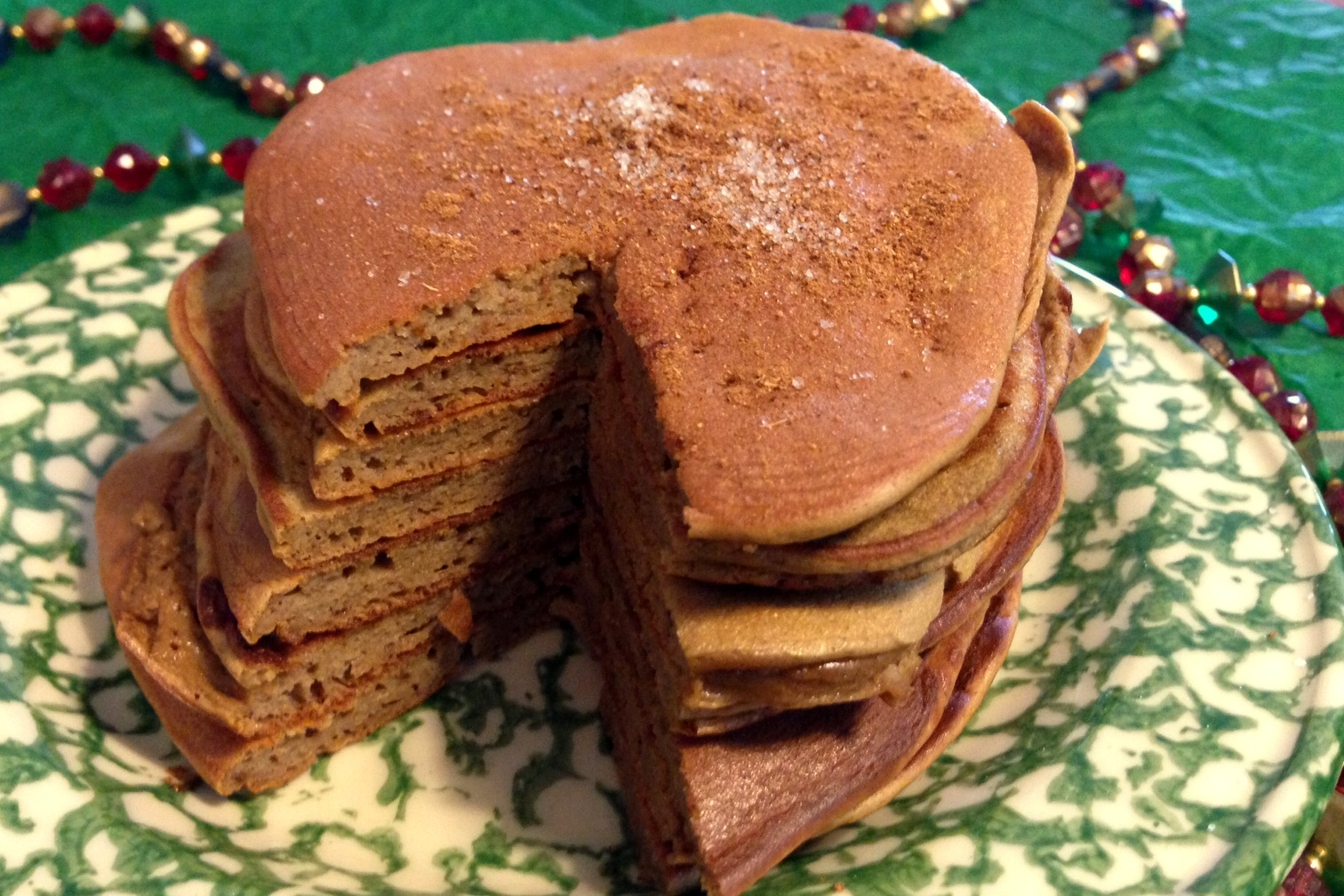 Gingerbread Pancakes 2