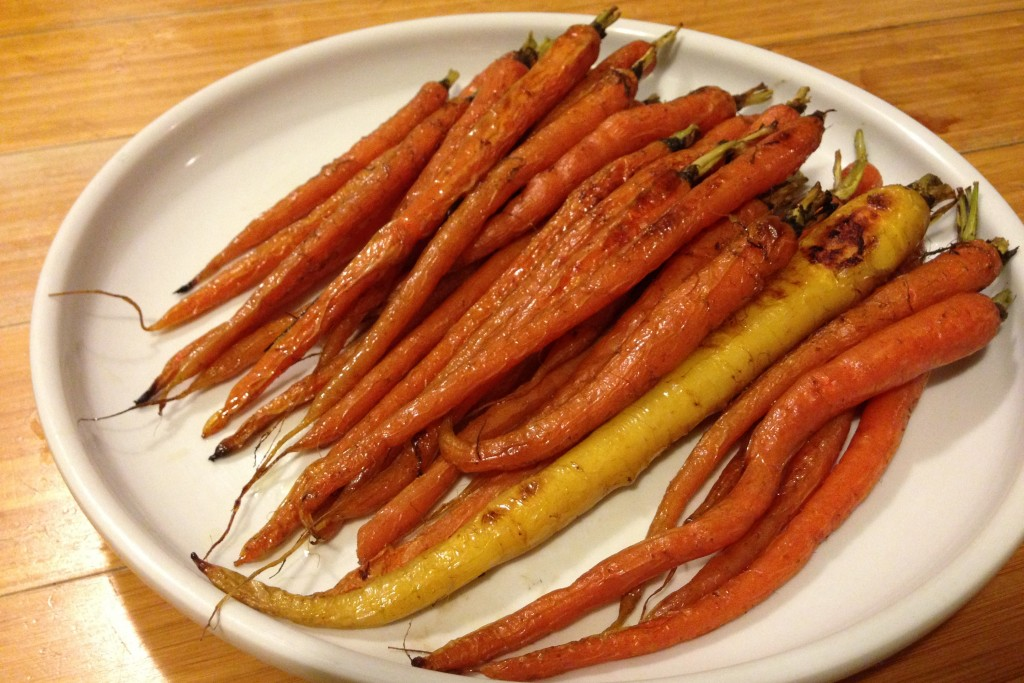 Roasted Carrots - Low carb, gluten free, paleo. Follow Guess Who's Cooking on Twitter @guesswhoscookin. guesswhoscooking.com