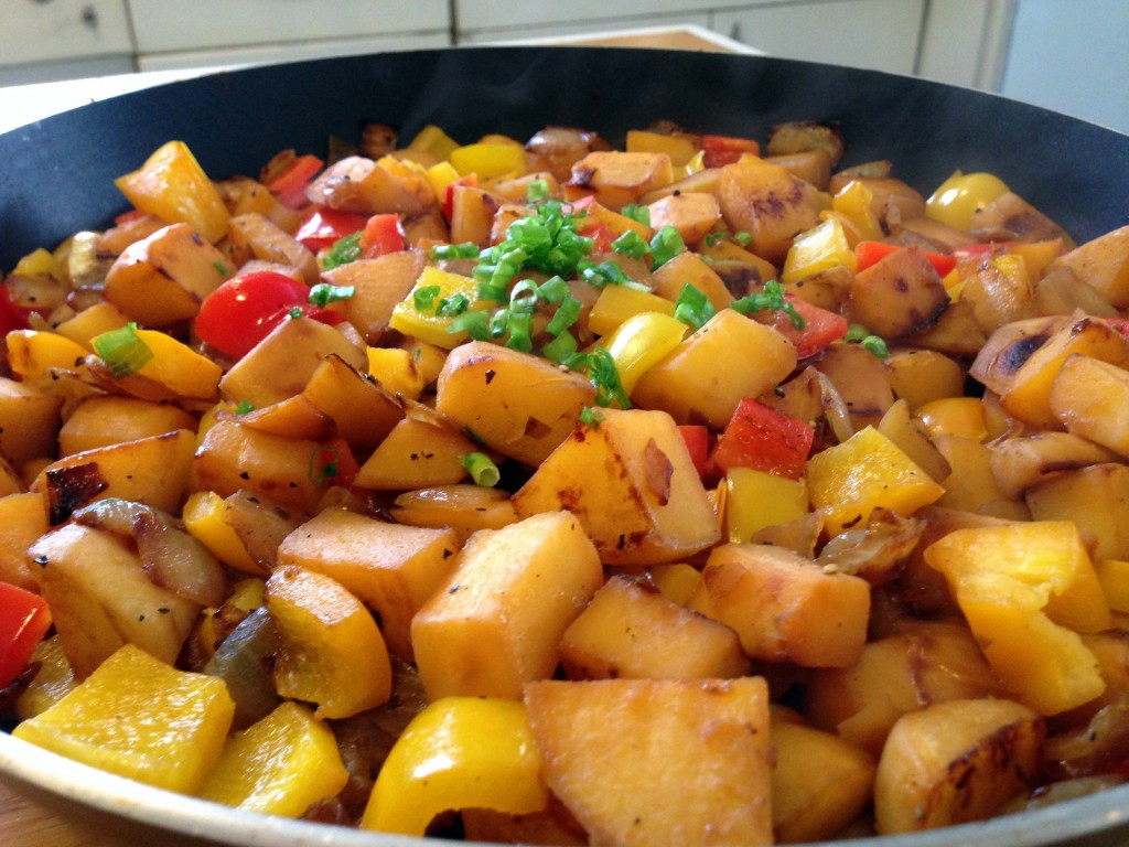 Rutabaga O'Brien - Low carb, paleo, and gluten free. Follow Guess Who's Cooking on Twitter @guesswhoscookin. http://guesswhoscooking.com