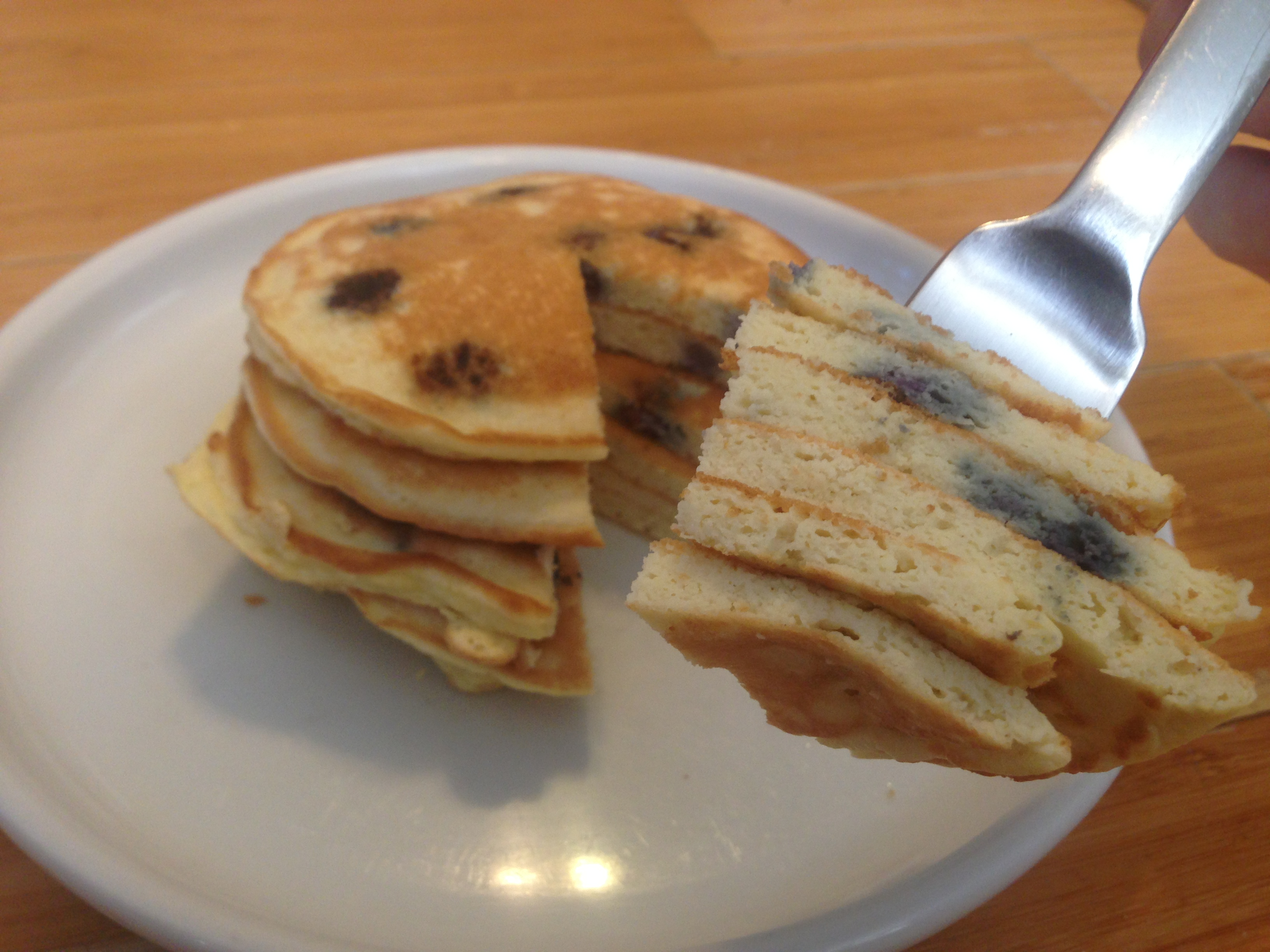 Pancake guess whos cooking blueberry coconut flour pancakes low carb gluten free dairy free ccuart Gallery