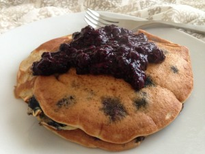 Coconut Flour Pancakes - Low carb, gluten free, dairy free, clean and natural. Follow Guess Who's Cooking on Twitter @guesswhoscookin. www.guesswhoscooking.com