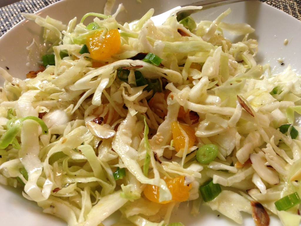 Asian Cole Slaw. Follow Guess Who's Cooking on Twitter @guesswhoscookin