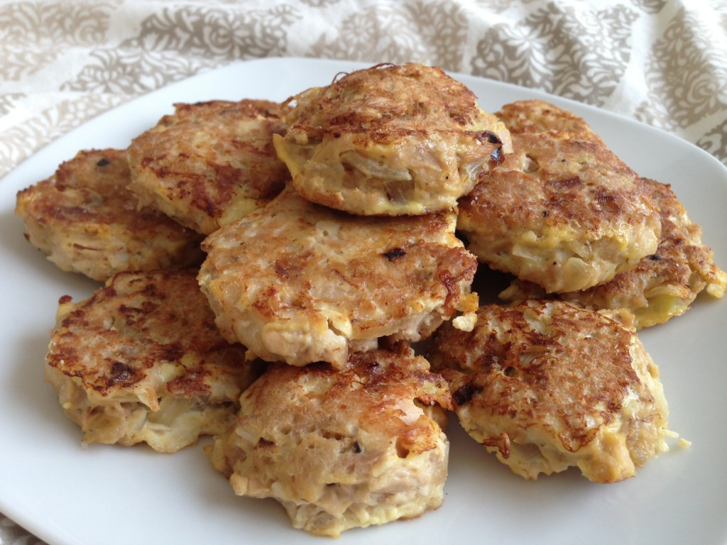 Fishy Nuggets - Low carb, gluten-free, dairy-free, healthy, easy. Follow GuessWhosCooking.com on Twitter @guesswhoscookin