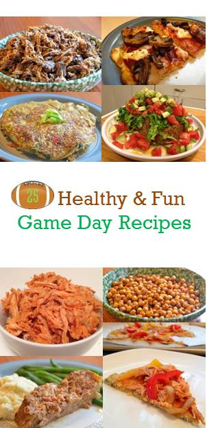 25 Healthy and Fun Game Day Recipes | Guess Who's Cooking | Recipes are mostly minimally processed, plant-based, and low in added sugar and refined flours. Perfect for the Super Bowl!