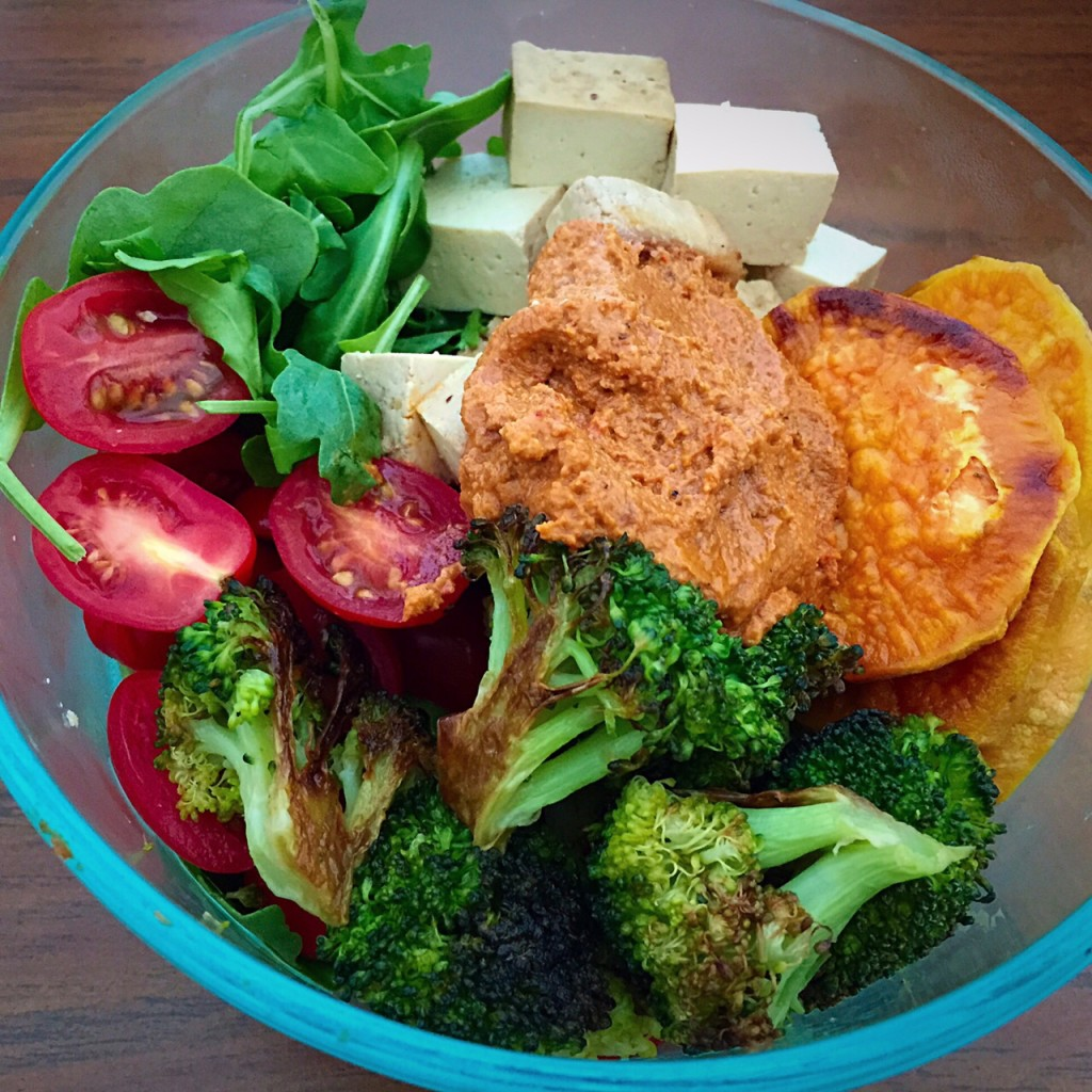 Roasted Veggie Lunch Bowl