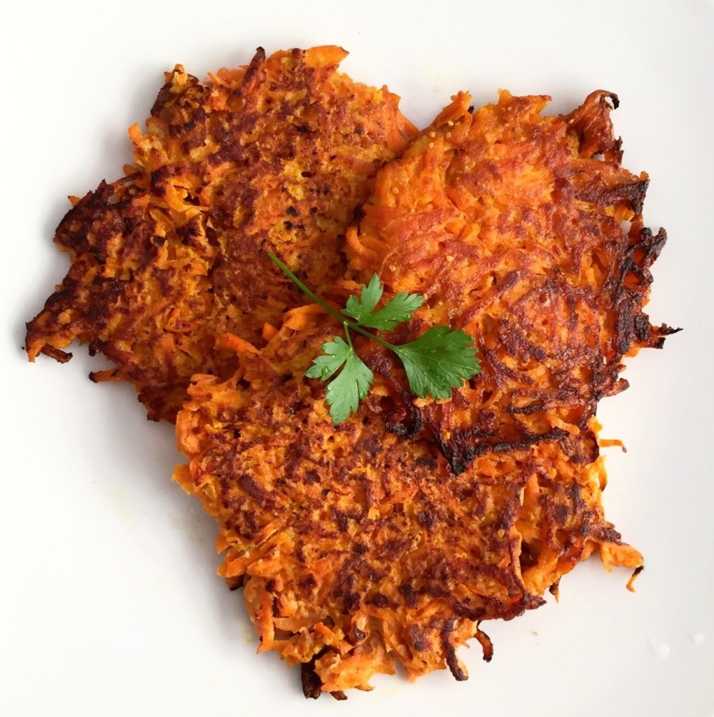 Carrot Pancakes   GuessWhosCooking.com   Healthy, easy, gluten free, dairy free, vegetarian, low carb