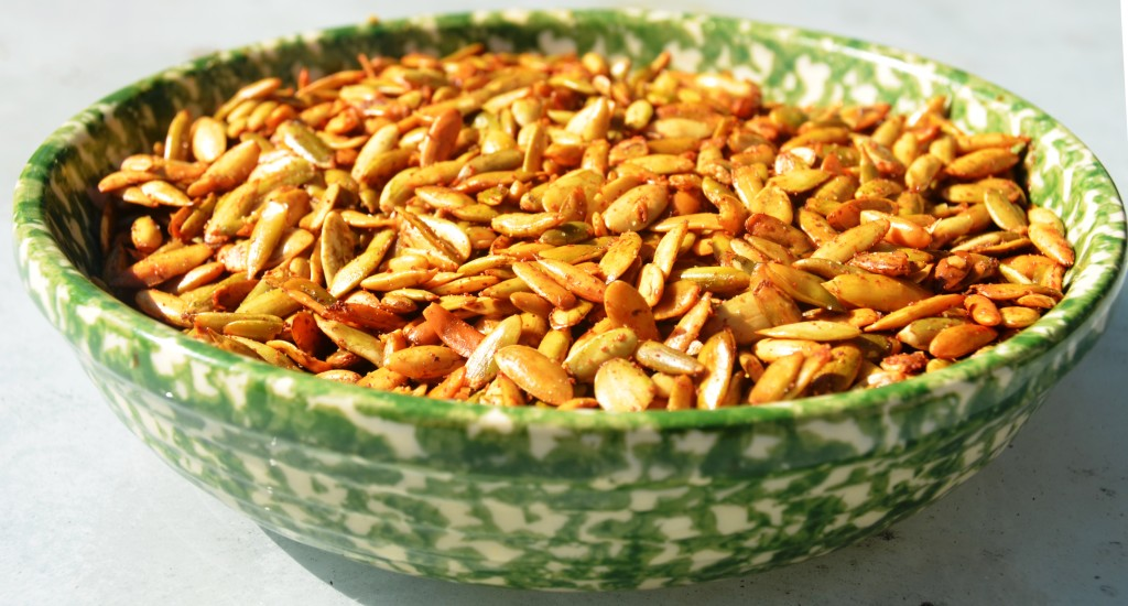 Chex Mix Flavored Pumpkin Seeds