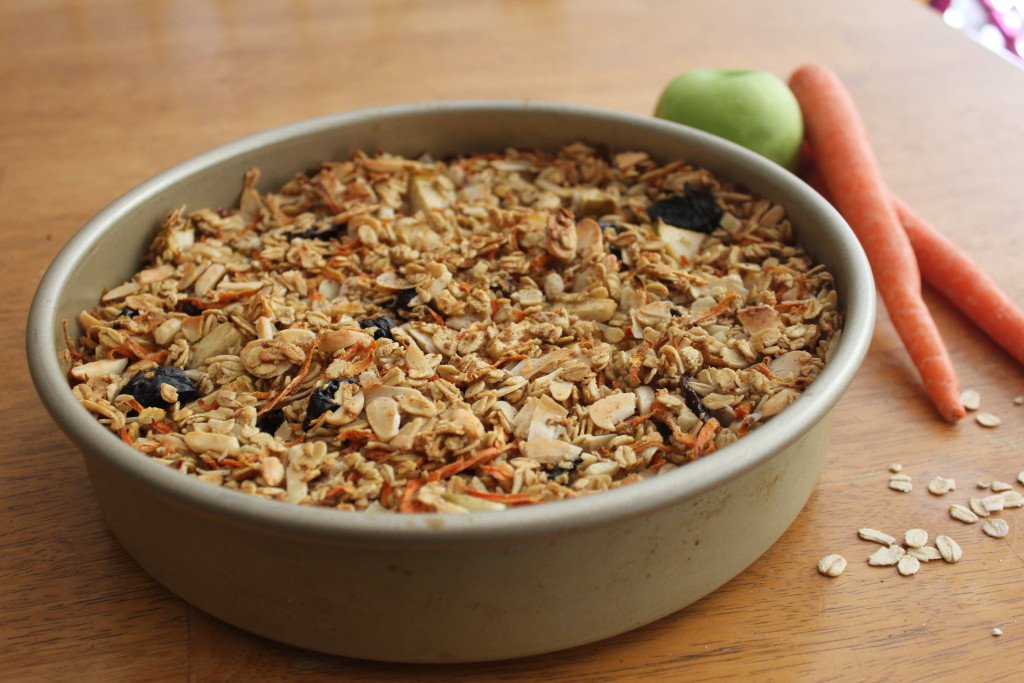 Carrot Cake Baked Oatmeal | Guess Who's Cooking | Healthy, plant based, vegan, vegetarian, dairy free, and gluten free (use certified GF oats)