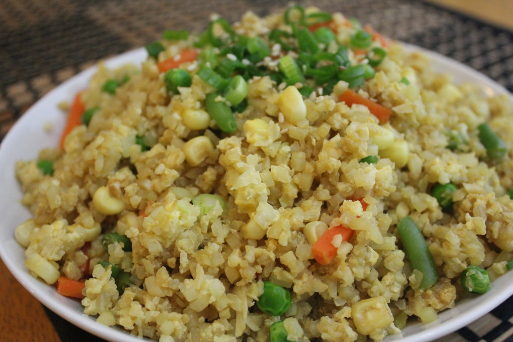 Cauliflower guess whos cooking easy cauliflower fried rice ccuart Gallery