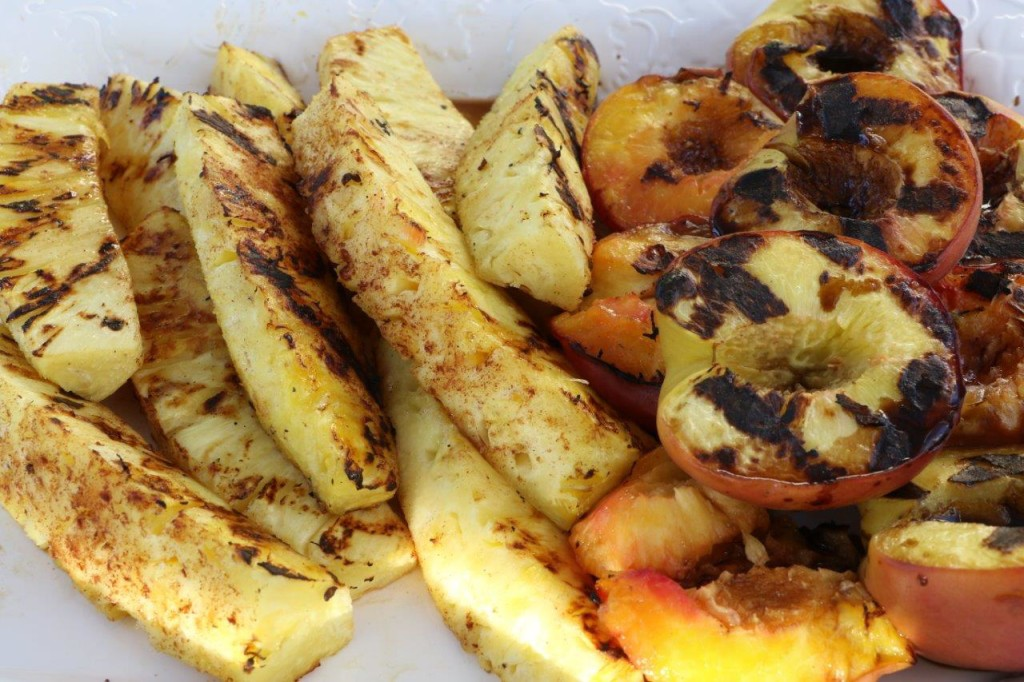 Grilled Peaches and Pineapple